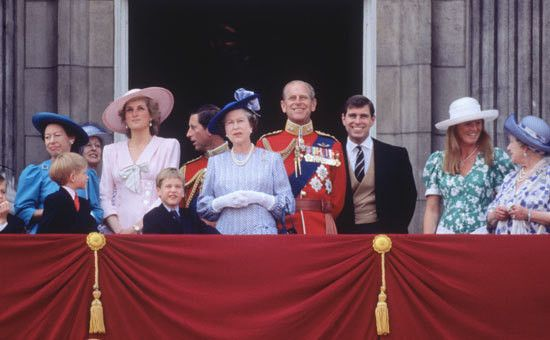 June 17, 1989: Trooping the Colour ceremony  | 1989 Princess