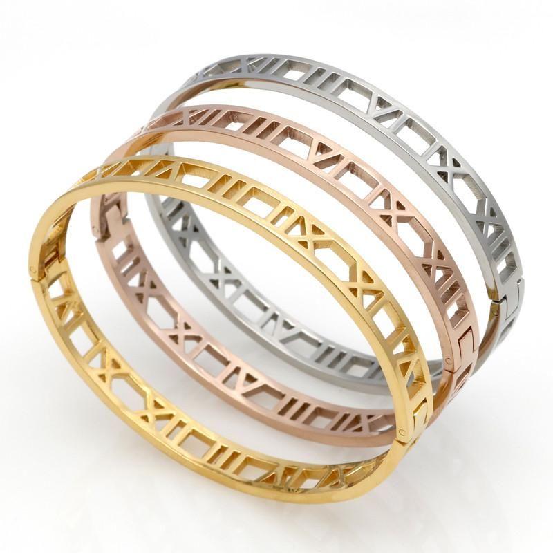 The Roman Numeral Bracelets