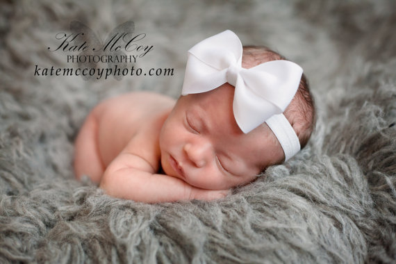 White baby headband df7f8ccc8d0