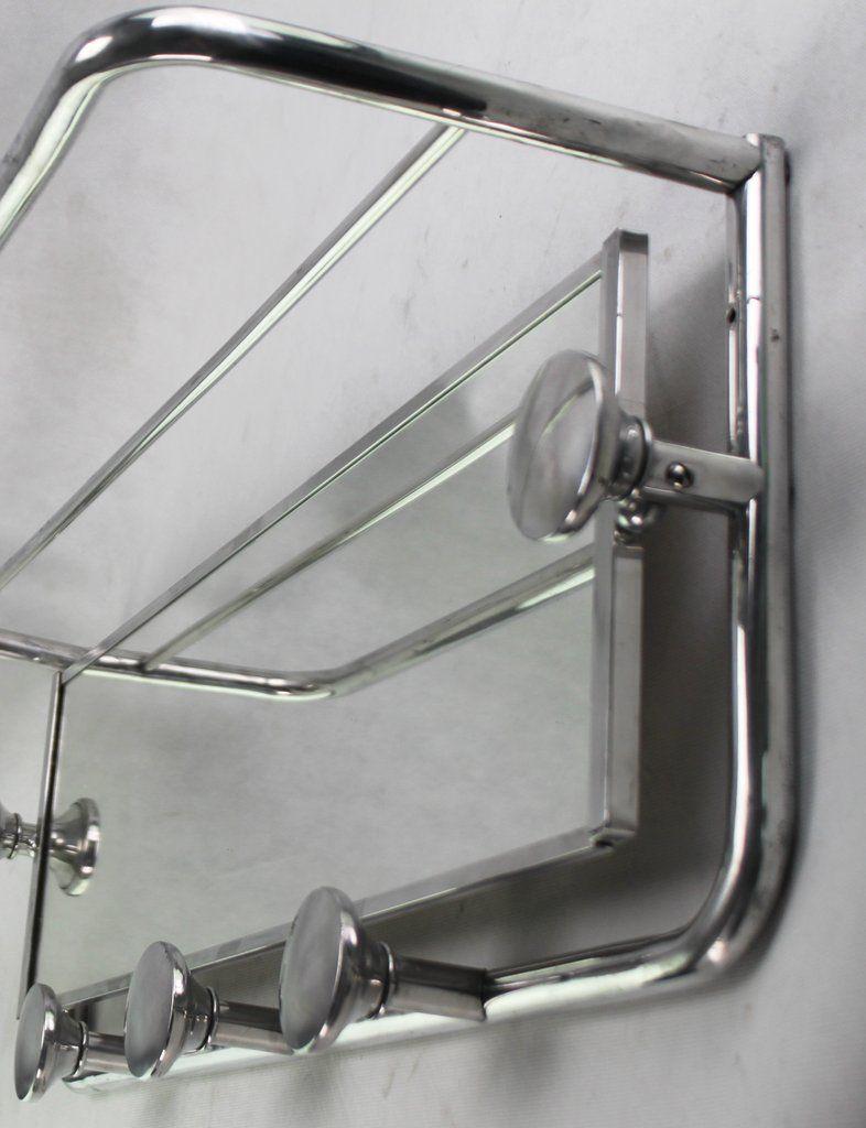 Art Deco Garderobe Mit Spiegel Bauhaus Wandgarderobe Spiegel Garderobe Wandgarderobe Bauhaus