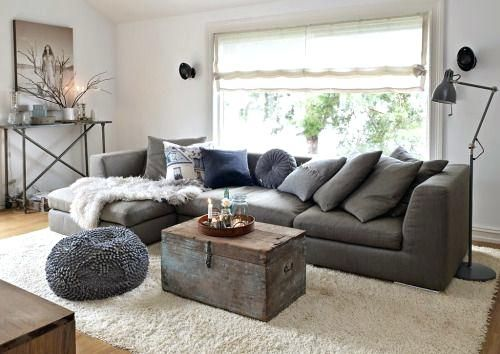 What Colour Carpet Goes With Charcoal Grey Sofa Carpet Vidalondon Living Room Grey Dark Grey Living Room Living Room Scandinavian
