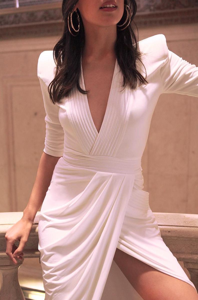 Grecian draped dress | Night Out | Pinterest | Moda otoño, Patrones ...