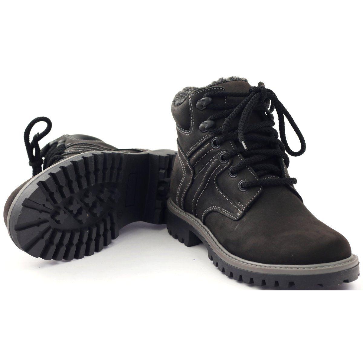 Trzewiki Traperki Zimowe Naszbut 831 Czarne Shoes Keep Shoes Shoe Laces