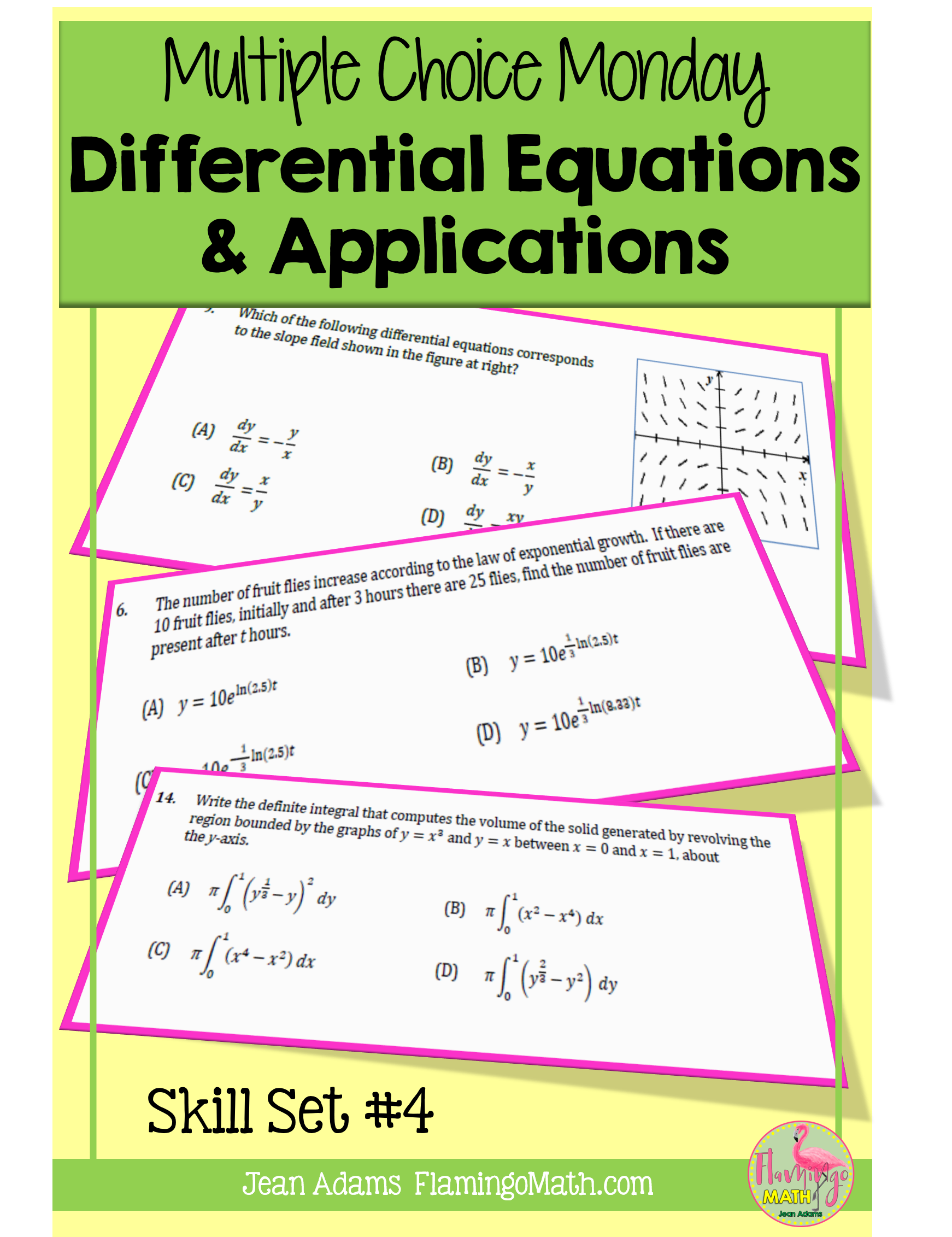 Differential Equations And Applications Ap Calculus Exam Prep In 2020 Ap Calculus Ap Calculus Ab Calculus