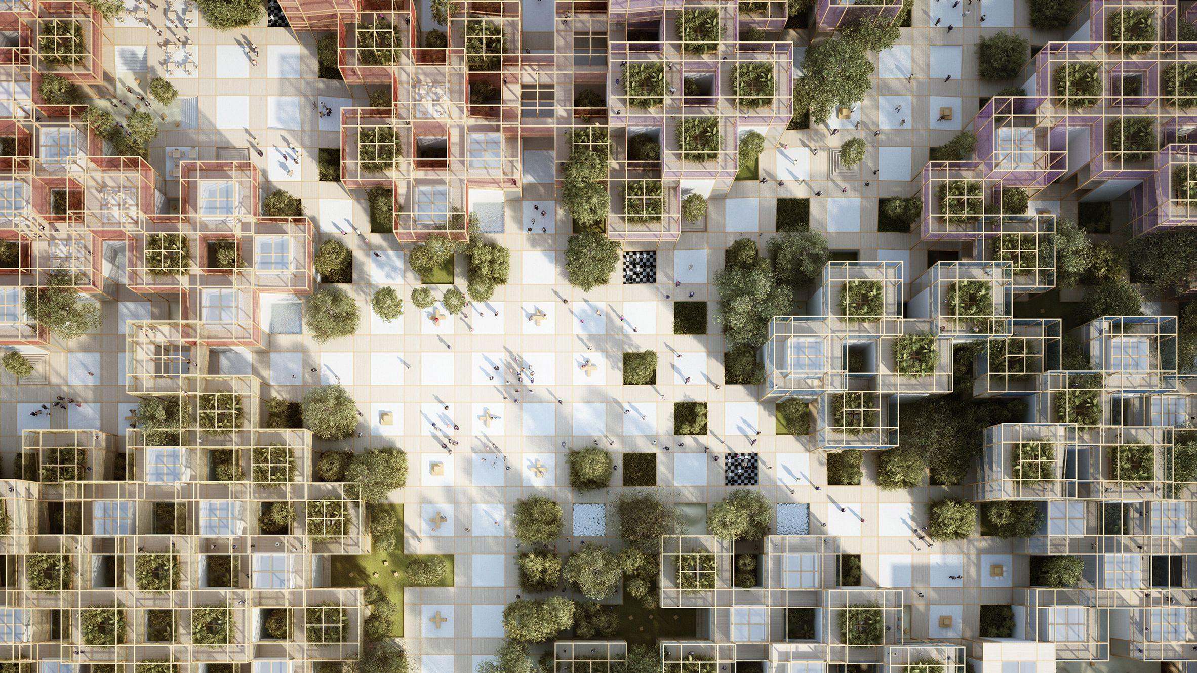A Thousand Yards Pavilion Penda Architecture Beijing China