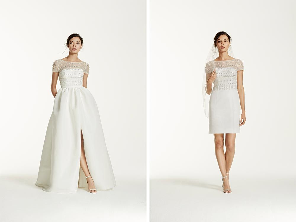 Transformable Wedding Dresses: Mix Up Your Look with Two in One ...