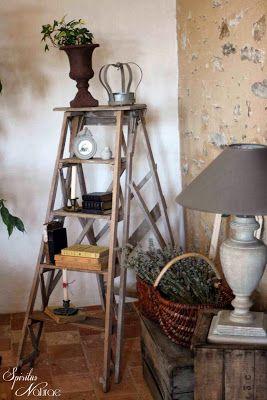 spiritus naturae ladder decor home