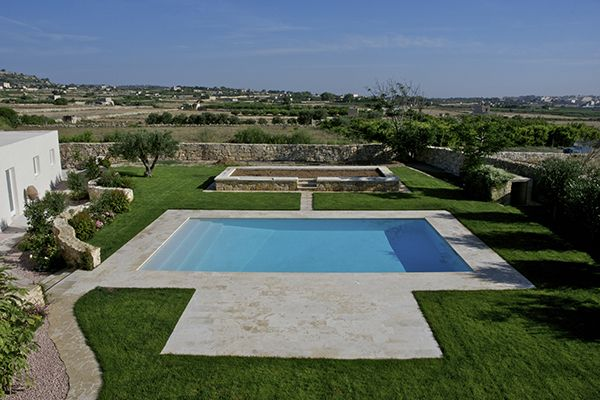 #fitforaking #stunning #views #pool #landscaped #landscapegarden #beautiful #space #countryside #country #malta #homesofquality http://www.homesofquality.com.mt/LuxuryDetail.aspx?ref=911265