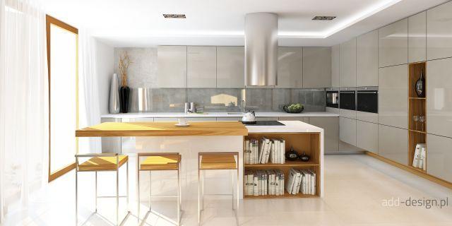 Pin By Agata Jurek On Kuchnia Biala Drewno Cegly Kitchen Interior Home Decor
