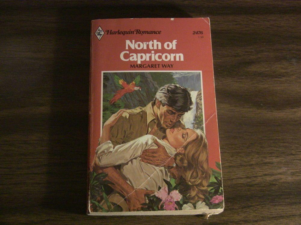 Vintage Harlequin Romance Book 2476 North Of Capricorn