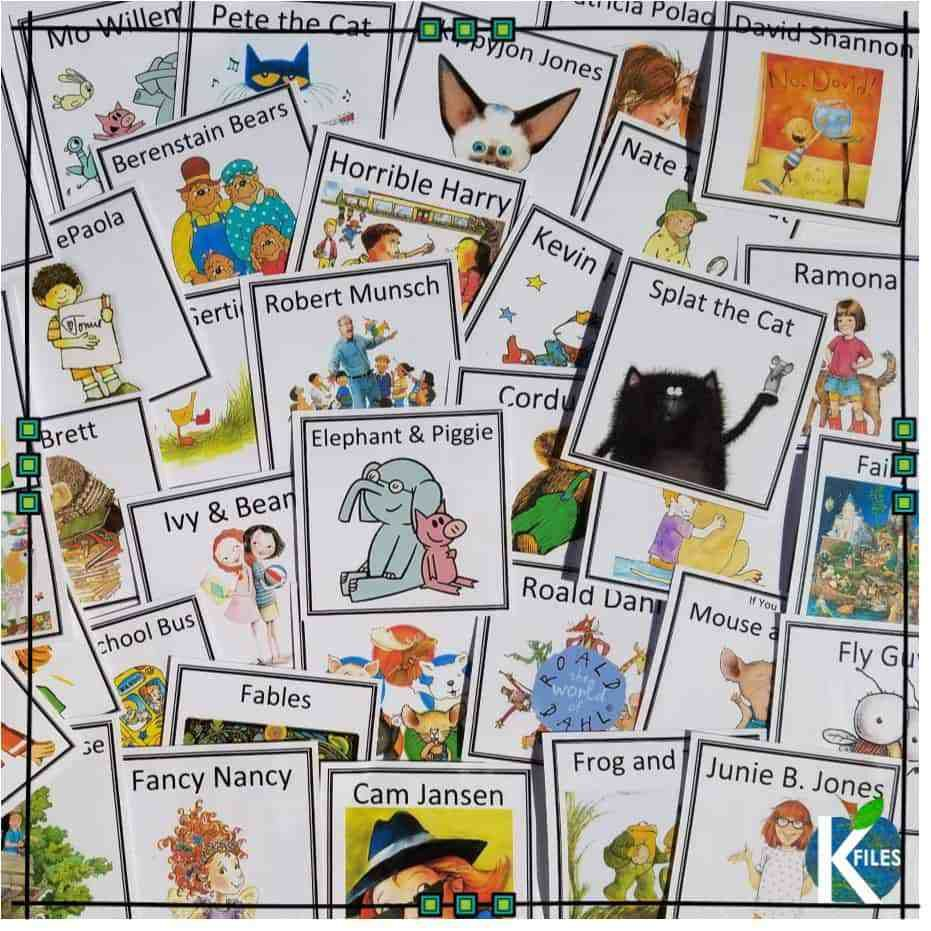 Classroom Library Labels: Freebie