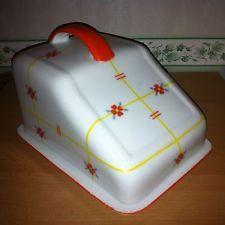 Old máslo nebo sýr tkanina von Eschenbach Bavaria Art Deco