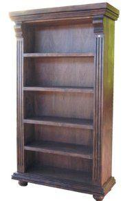 Muebles de madera de roble libreros - Libreros de madera modernos ...