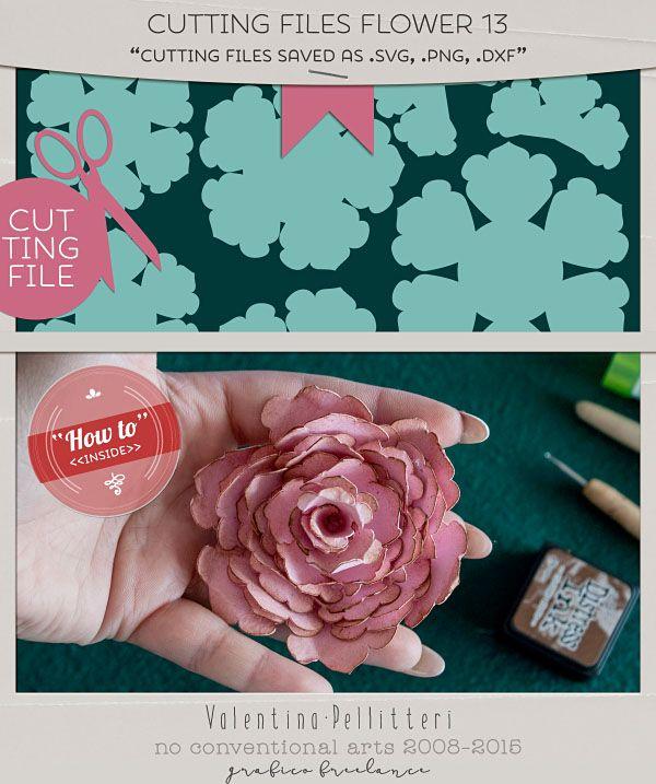 Step by step photographic tutorial #doityourself #crafting #scrap #hobbies #paper #flowers #valentinascreations   Pellitteri Valentina | aka Valentina's Creations ~ Digital Scrapbooking Designer and Book Illustrator