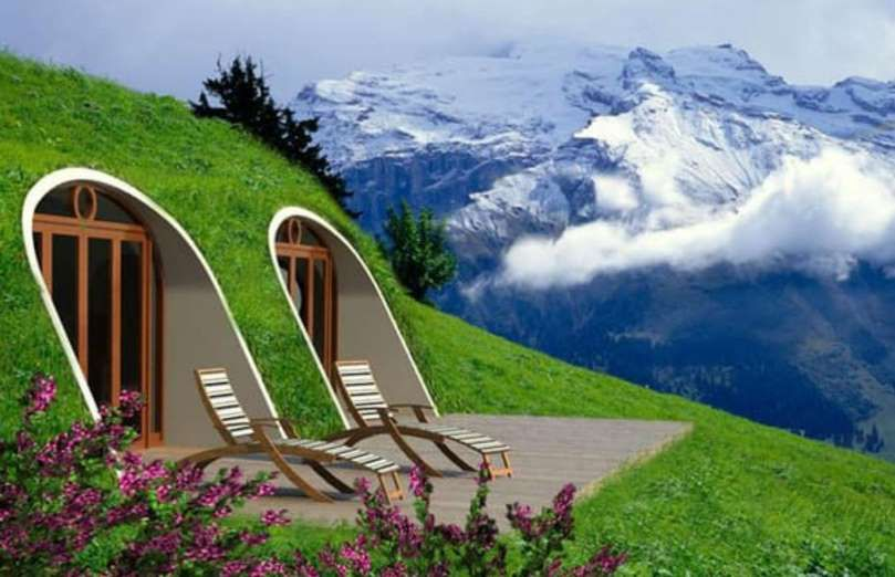 Build Your Own Green Home having your own hobbit home costs around $42 (£30) per square foot
