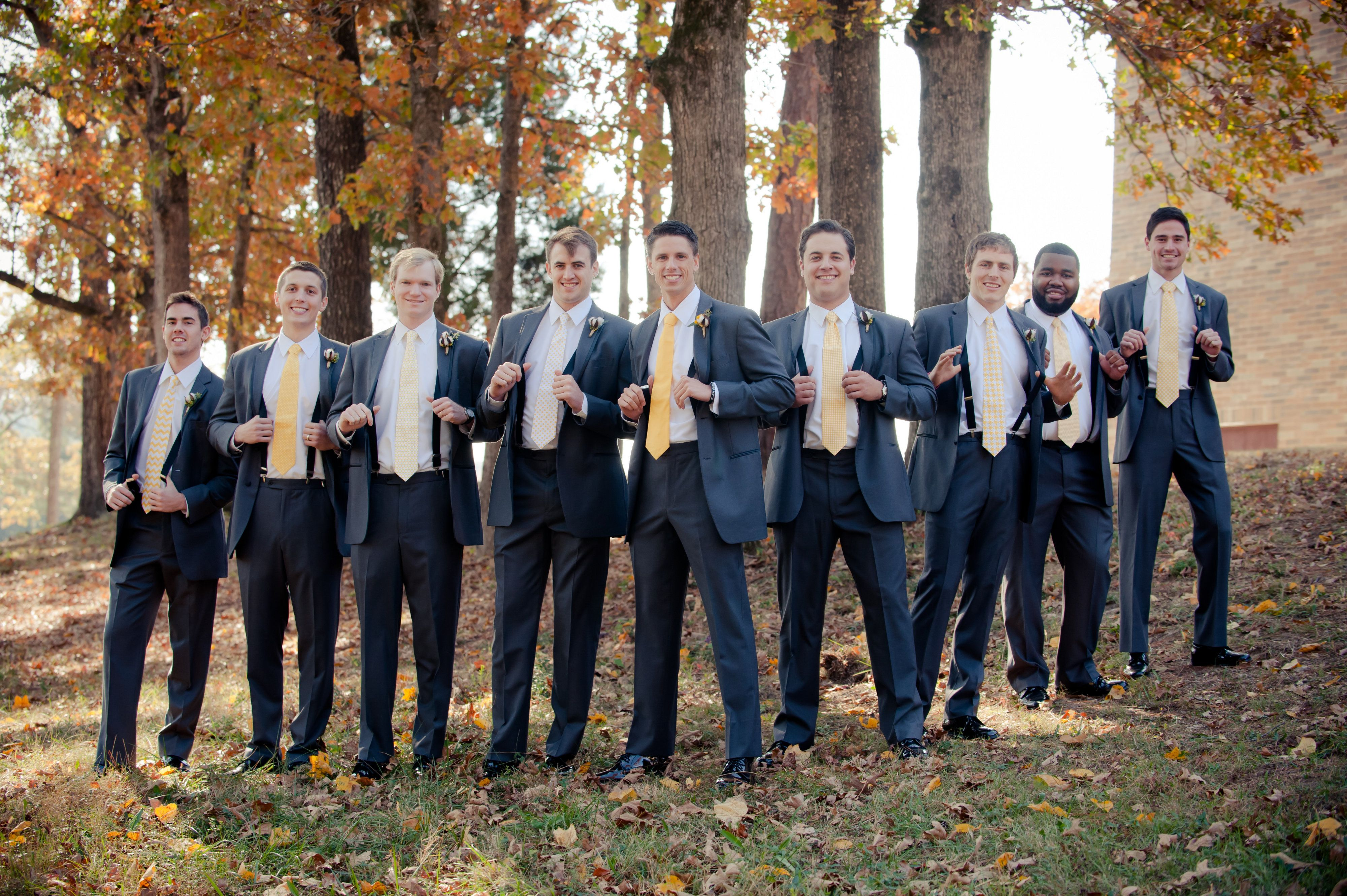 Allison Lewis Photography Decor To Adore Best Dressed Groomsmen