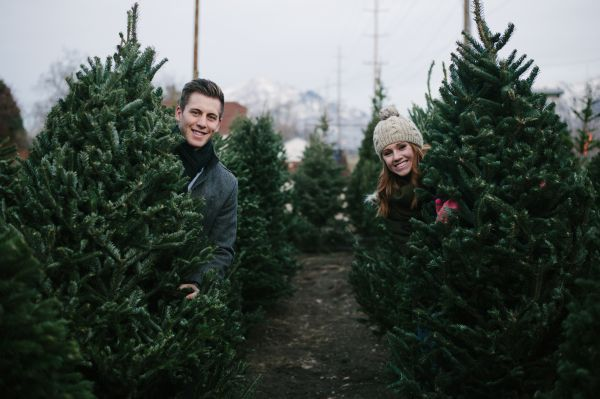 Cozy Christmas Tree Farm Anniversary Shoot By Jamison Elizabeth Photography Inspired By This Christmas Tree Farm Photos Christmas Tree Farm Christmas Tree Farm Photo Shoot