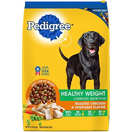 Cheap Pedigree Healthy Weight Adult Dry Dog Food Roasted Chicken