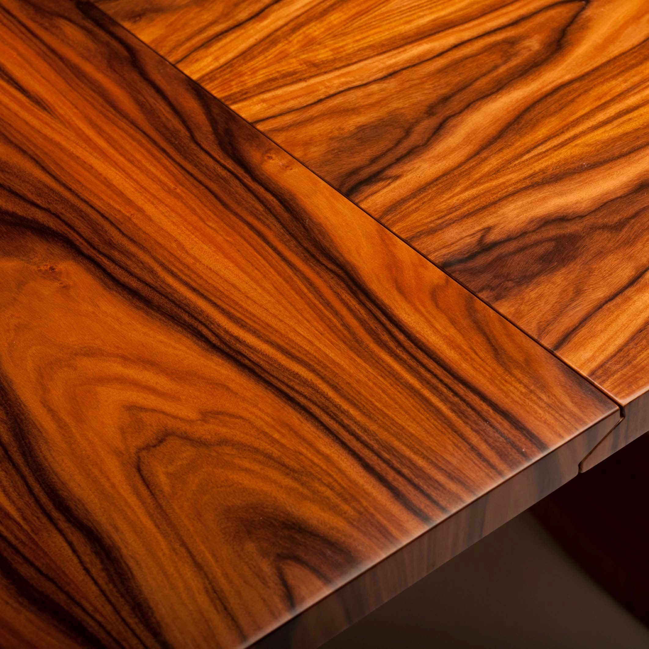 We love to be inspired by the wood grain - some of the