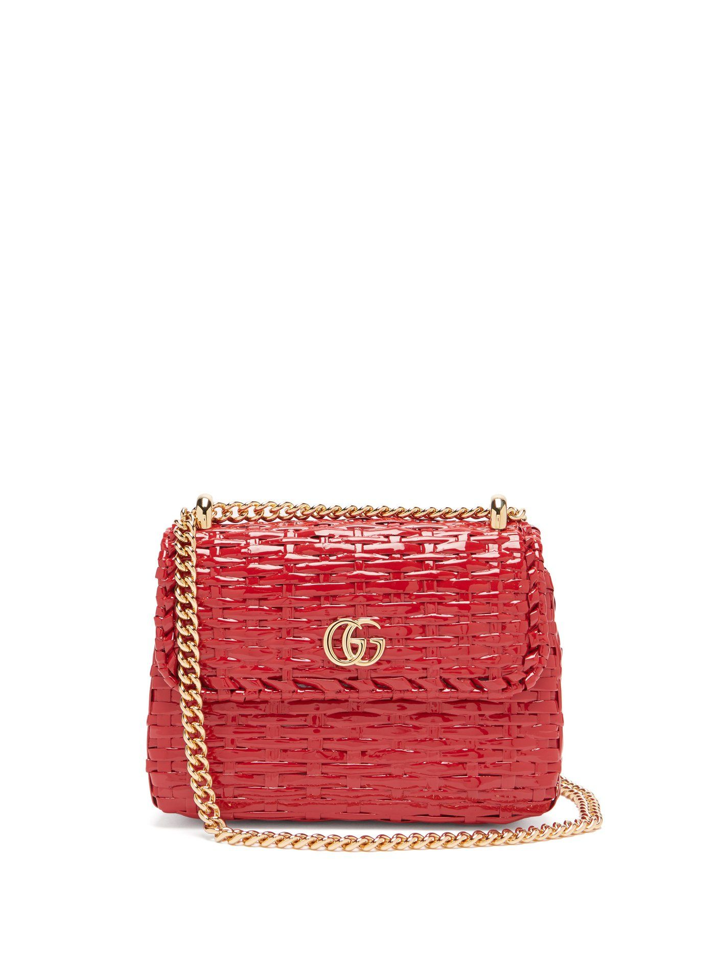 bc38eb5af43a Cestino woven-wicker cross-body bag | Gucci | MATCHESFASHION.COM US ...