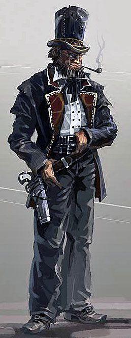 Steampunk West. | RPG - Steampunk | Pinterest | Lord ...  Steampunk West....