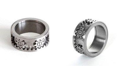 Dude jewelry. Kind of funny. I wonder if Jameson wants one.