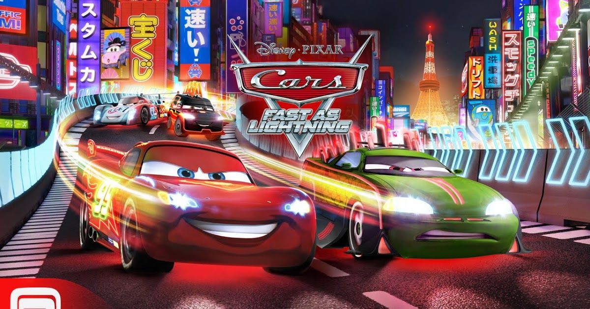 Free Download Cars Fast as Lightning Game Apps For Laptop