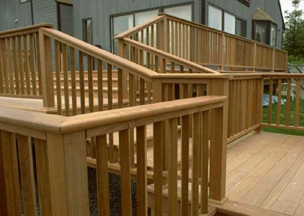 Wood Deck Railings See more Deck Railing