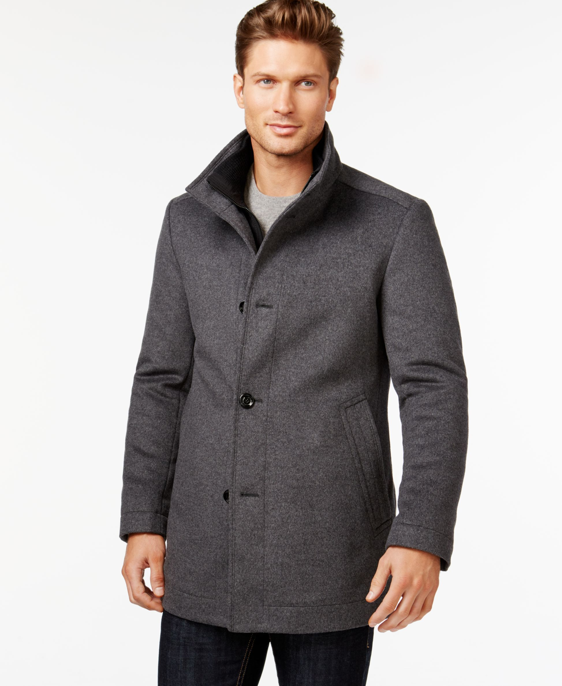 Boss Hugo Boss Coxtan Wool And Cashmere Coat Coats Jackets Men Macy S Cashmere Coat Hugo Boss Cashmere [ 2378 x 1947 Pixel ]