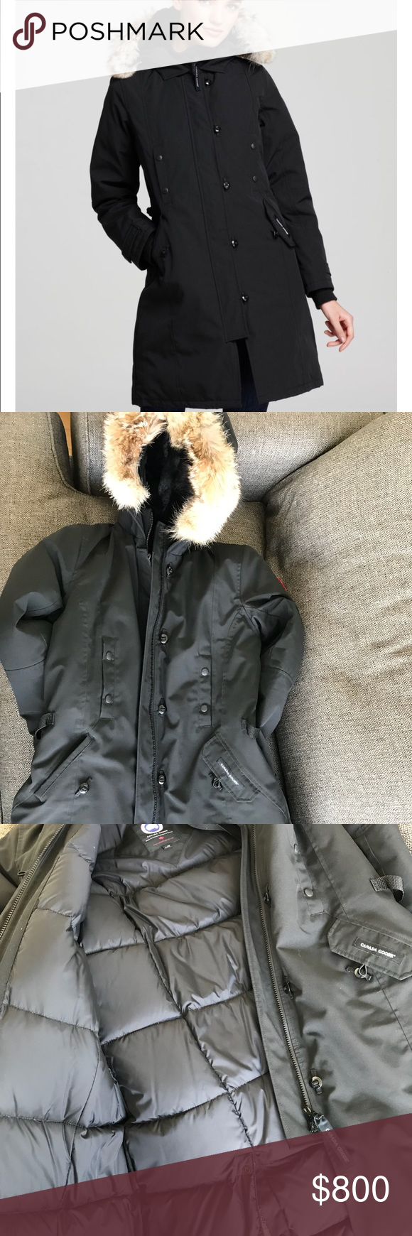 Canada Goose Kensington Parker Like New Used Once. No marks or stains. Size xxl