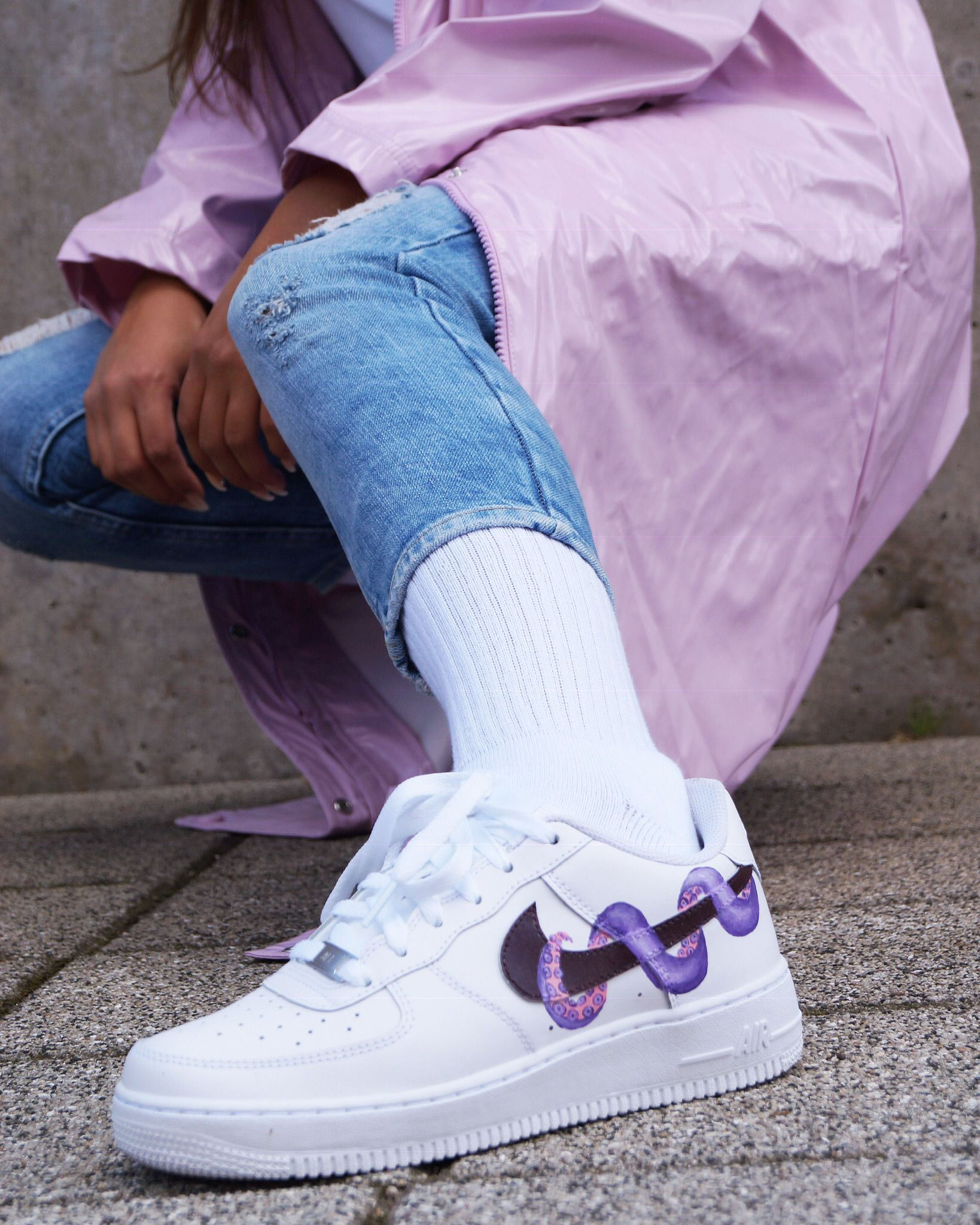 AF1 'Octopus' in 2020 Nike air shoes, Nike shoes air