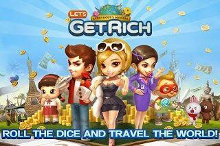 Tutorial Android Indonesia: Download Games Line LET's Get Rich .APK Terbaru Ap...