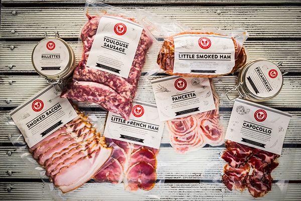 Packaging On Behance Delikatesy Sosiski Myaso