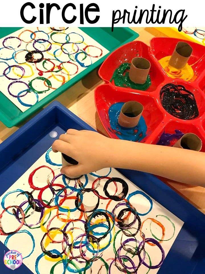2D-Form-Aktivitäten für Vorschule, Vorschule und Kindergarten #preschoolers