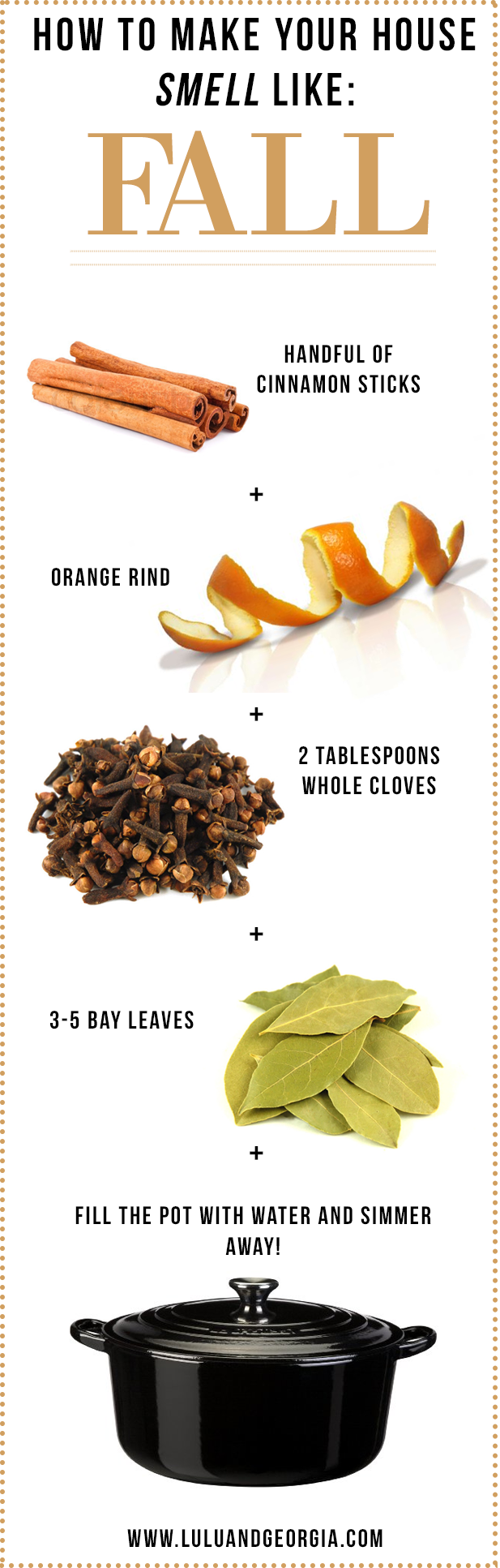 How to make your house smell like FALL: Add cinnamon sticks, some ...