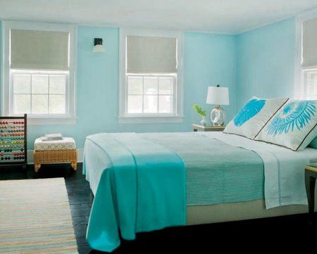 Beautiful Aqua Bedroom Ideas Contemporary - Decorating Ideas ...