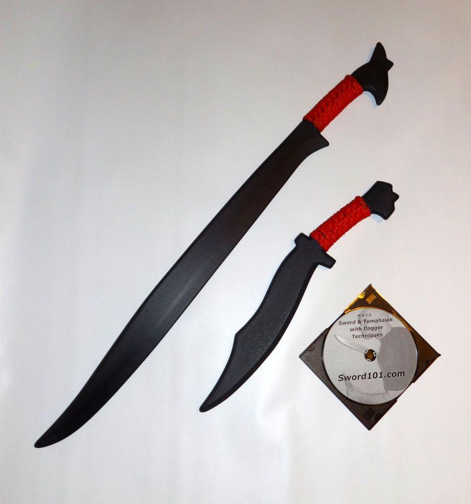 NEW Khopesh Practice Sword Egyptian Ninja Training Warrior Machete Swords