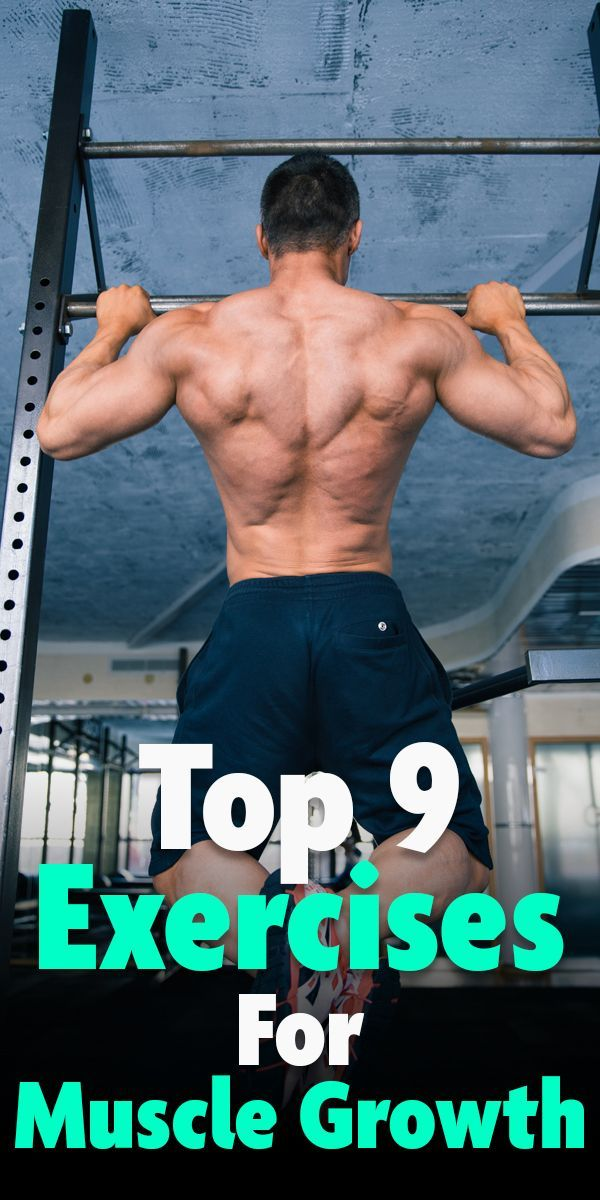 Check out the top 9 muscle building exercises! #fitness #gym #exercise #workout #muscle #musclebuild...