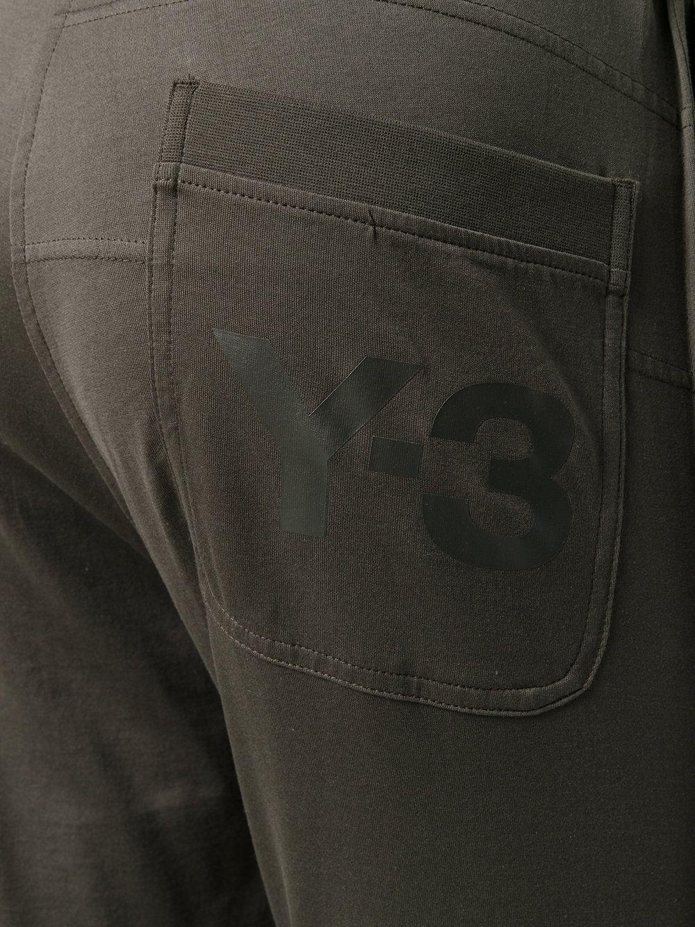 Y-3 长款弹力针织打底裤
