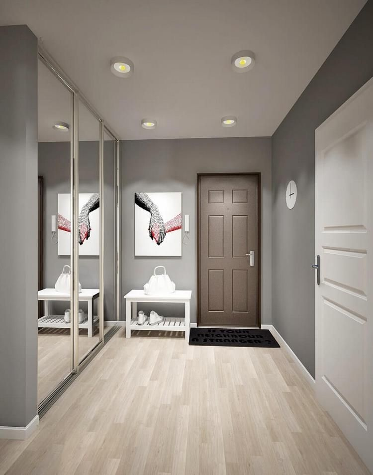 Grey And White Entryway Design Ideas And Beautiful Modern