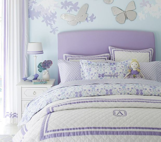 Lewis Headboard And Slipcover Big Girl Bedrooms Girl Room