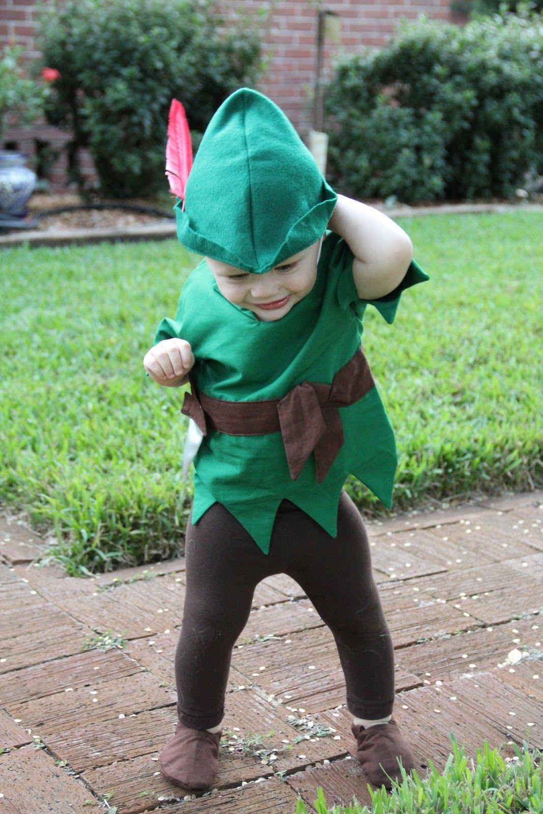 Diy robin hood costume d guisements enfants pinterest robin des bois d guisements et diy - Deguisement peter pan enfant ...