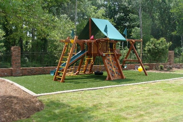 Playground Mulch Border