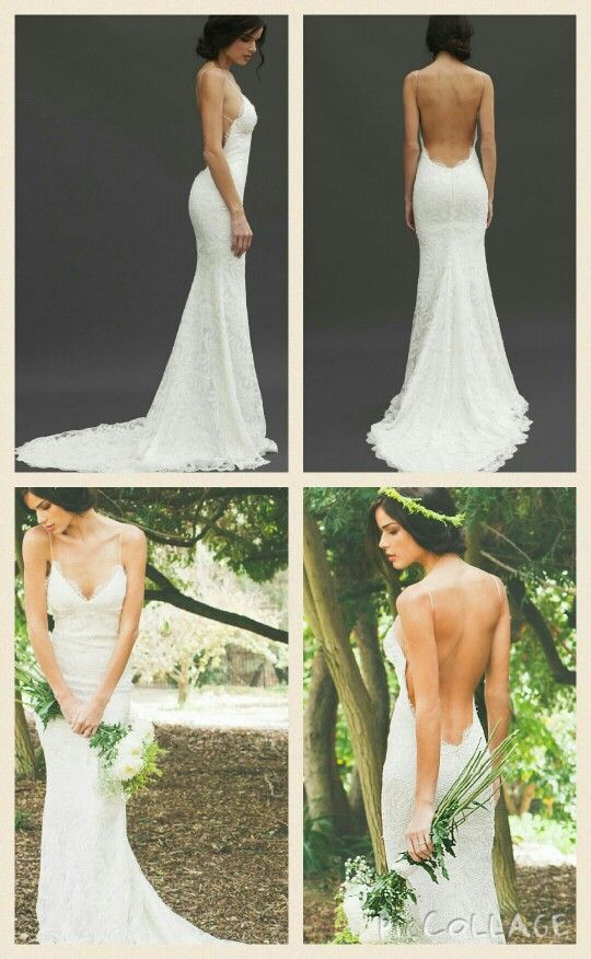 This is a simple but yet beautiful wedding dress..when I get married again I want a dress like this..Love!!