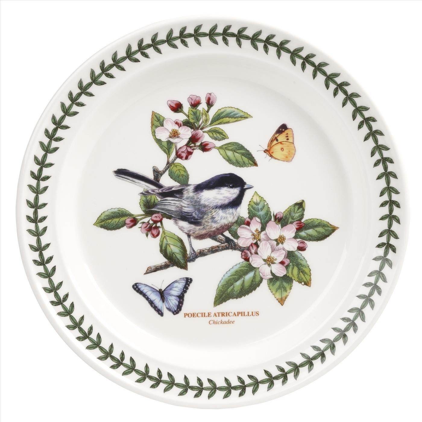 Portmeirion Botanic Garden Designs portmeirion botanic garden chintz placemats 305 x 23cm set of 6 Portmeirion Botanic Garden Birds Set Of 6 Chickadee Dinner Plates