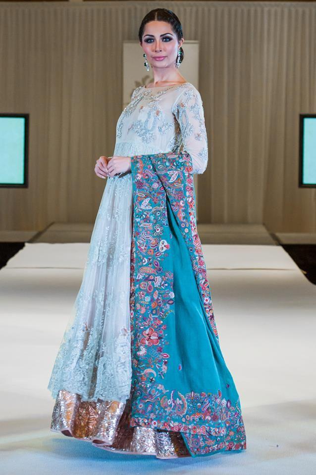 Nida Azwer Kothari Parade Bridal Dress Collection 2014 (1)
