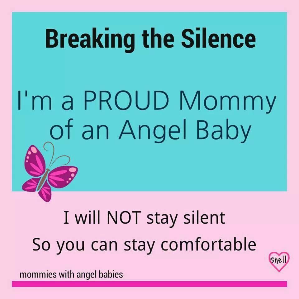 Proud mom of an Angel