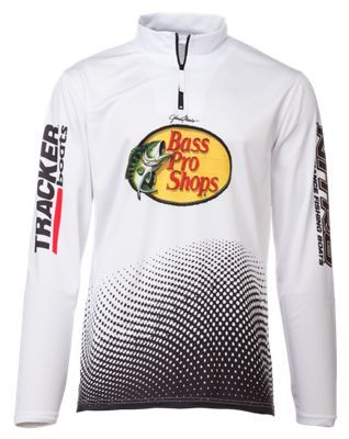 Bass Pro Shops NITRO Fishing Jersey for Men - White - 2XL
