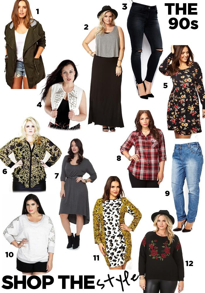 Steal Her Style: Uh Oh 90s Fashion