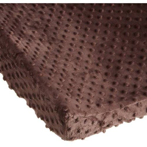 Carters Super Soft Dot Changing Pad Cover, Chocolate $15.13